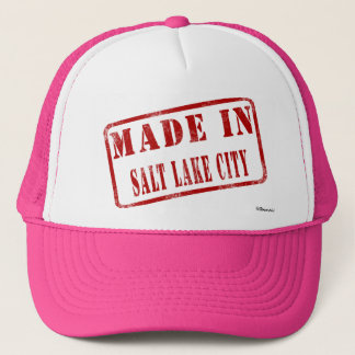 Made in Salt Lake City Trucker Hat