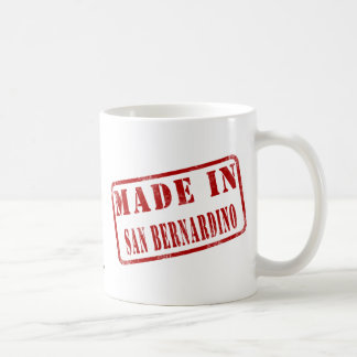 Made in San Bernardino Coffee Mug