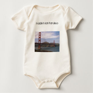 """made in san francisco"" baby baby bodysuit"