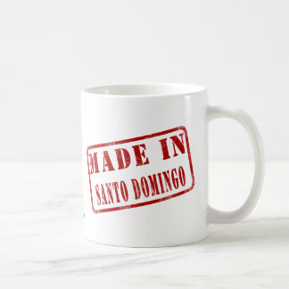 Made in Santo Domingo Coffee Mug