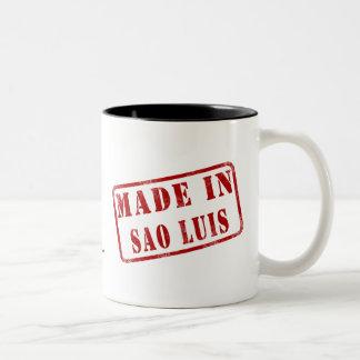 Made in Sao Luis Two-Tone Coffee Mug