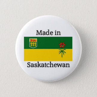 Made in Saskatchewan 2 Inch Round Button