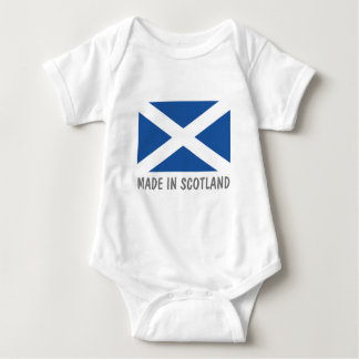Made in Scotland cute baby clothes Baby Bodysuit