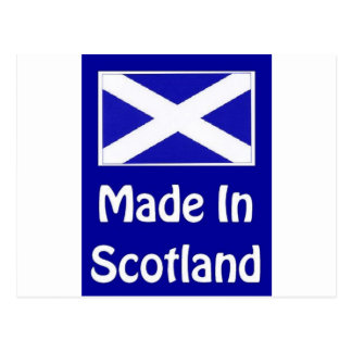 Made In Scotland Logo Postcard
