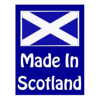 Made In Scotland Logo Postcard