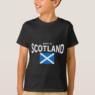 Made in Scotland Saltire T-shirt
