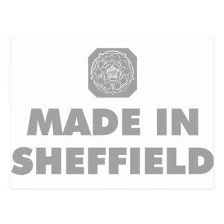 Made in Sheffield Postcard