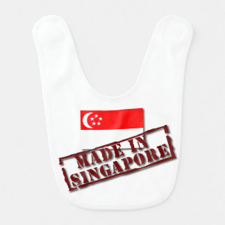 Made In Singapore Baby Bib
