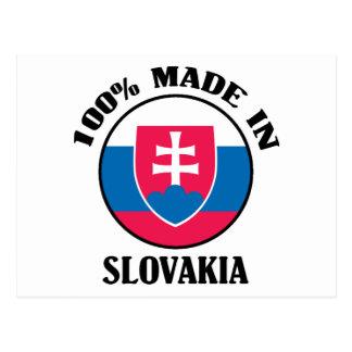 Made In Slovakia Postcard