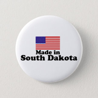 Made in South Dakota 2 Inch Round Button