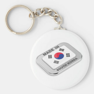 Made in South Korea Keychain