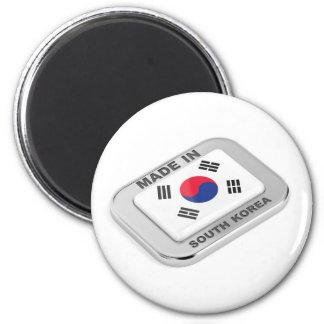 Made in South Korea Magnet