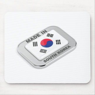 Made in South Korea Mouse Pad