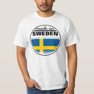 "Made in ...""Sweden"" T-Shirt"