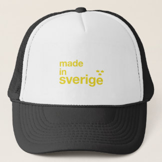 Made in Sweden & Tre Kronor / Three Crowns Trucker Hat