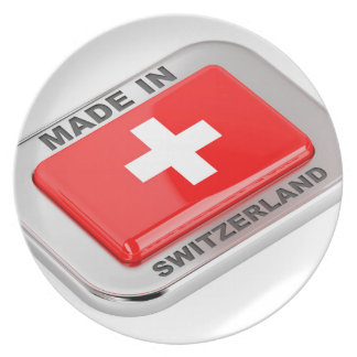 Made in Switzerland Plate