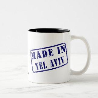 Made in Tel Aviv Two-Tone Coffee Mug