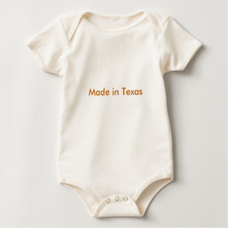 Made in Texas Baby Bodysuit