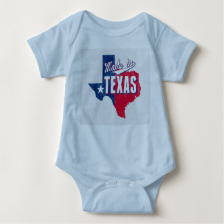 """Made In Texas"" Baby Bodysuit"