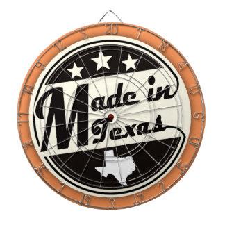 """Made in Texas"" Dart Board"