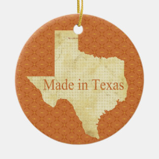 Made in Texas Photo Ornament