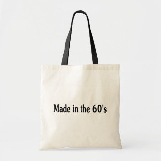 Made In The 60's Tote Bag