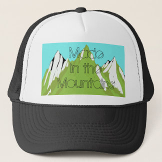 Made in the Mountain trucker hat