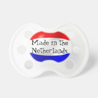 Made In the Netherlands Pacifiers