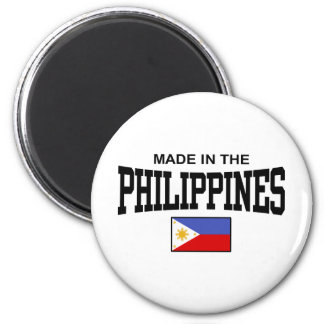 Made In The Philippines Magnet