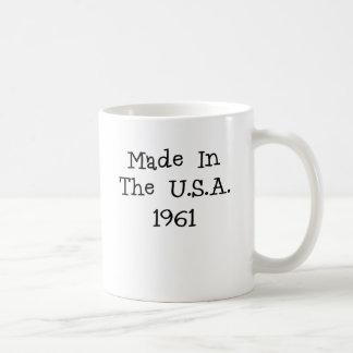 Made in the usa 1961.png coffee mug