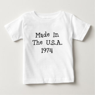 Made in the usa 1974.png baby T-Shirt