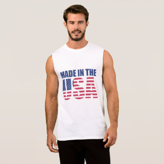 Made in the USA American Flag Shirt