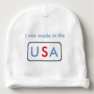 Made in the USA - Baby beanie