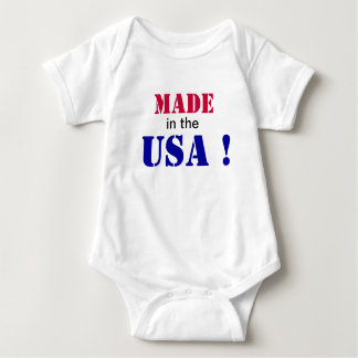 Made in the USA! Baby Bodysuit