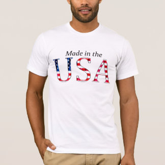 """Made in the USA"" (BRIGHT) T-Shirt"