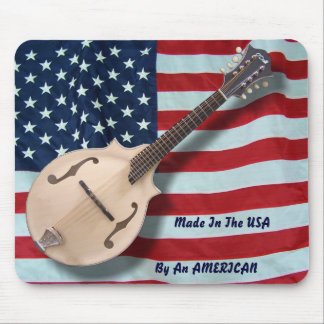 MADE IN THE USA MANDOLIN-MOUSEPAD MOUSE PAD
