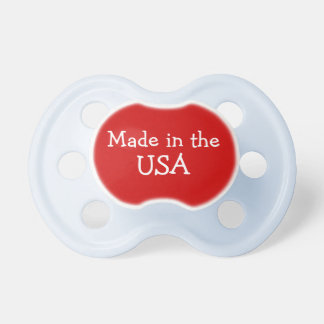 Made In The USA Baby Pacifier