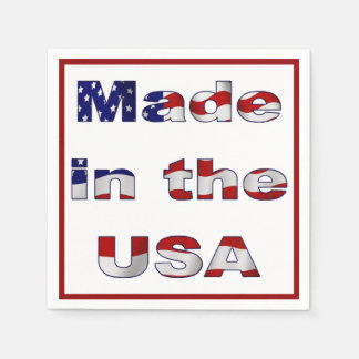 Made in the USA Paper Napkin
