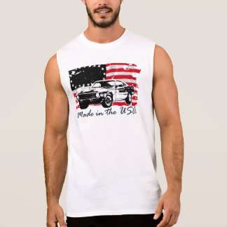 Made in the USA Sleeveless Shirt