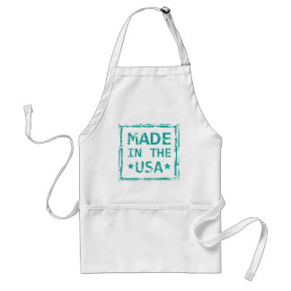 Made in the USA stamp Standard Apron