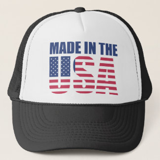 Made in the USA trucker hat