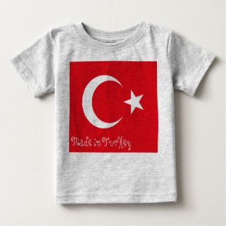 Made In Turkey Baby T-Shirt
