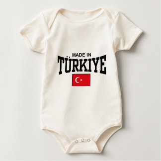 Made In Turkiye Baby Bodysuit