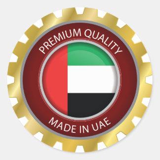 Made in UAE Flag, United Arab Emirates Seal