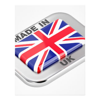Made in United Kingdom Letterhead