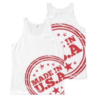 Made in USA All-Over T-Shirt