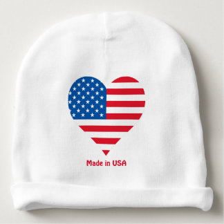 Made in USA baby beanie