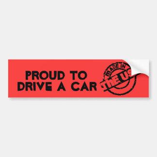 Made In USA Bumper Sticker