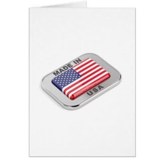 Made in USA Card