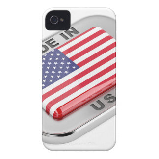 Made in USA Case-Mate iPhone 4 Case